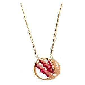 Jewelry - Pink Bead Pendant Necklace